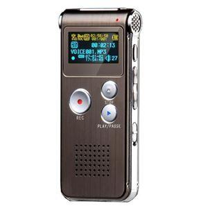 Immagine di Registratore AUDIO Digitale Ambientale e Telefonico VOICE RECORDER SPY dittafono