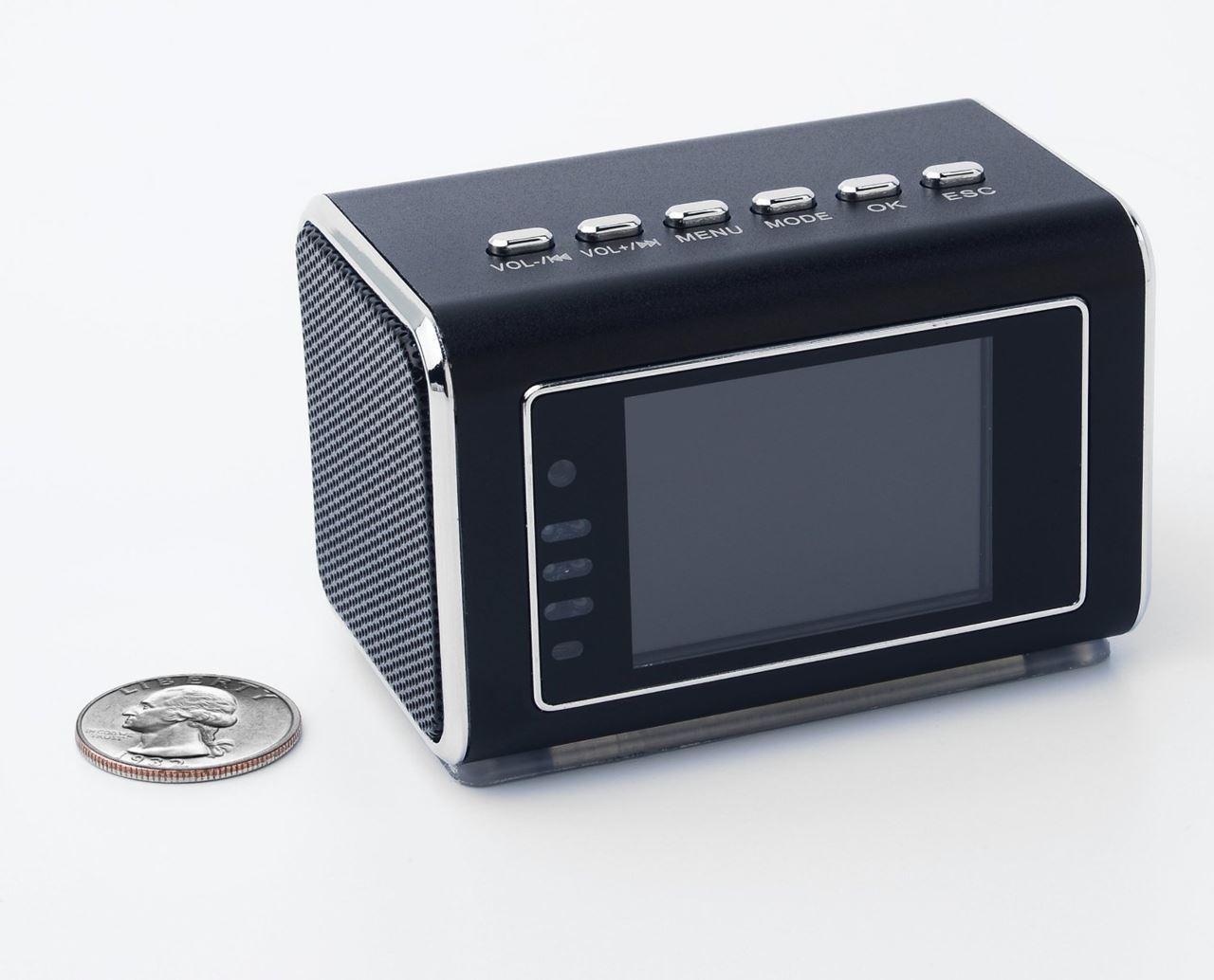 Telecamera Nascosta In Oggetti : Sveglia con telecamera nascosta e display video hd motion spy