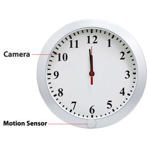telecamera nascosta orologio parete