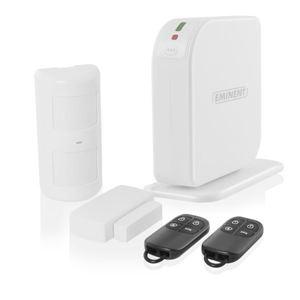 Immagine di Kit Allarme Wireless GSM + Sensori e Telecomandi EMINENT EM8605