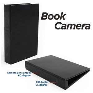 libro spia telecamera nascosta
